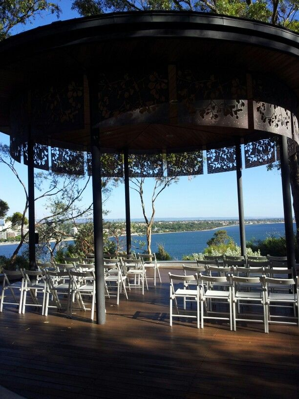 Marlee pavilion wedding ceremony in kings park
