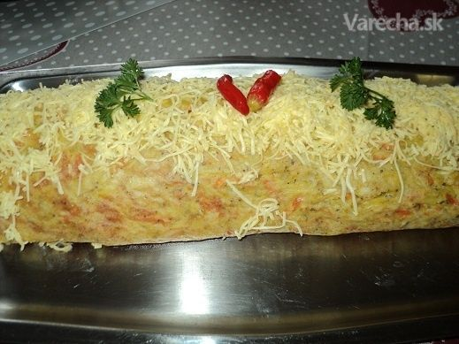 Náš dnešný obed zemiaková roláda (fotorecept)