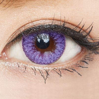 EOS Fay Series colored contact lenses from EyeCandy's #colorcontacts #circlelens