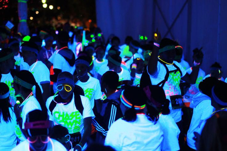 Black Light Glow Run! https://glowproducts.com/ #glowrun #glowrace
