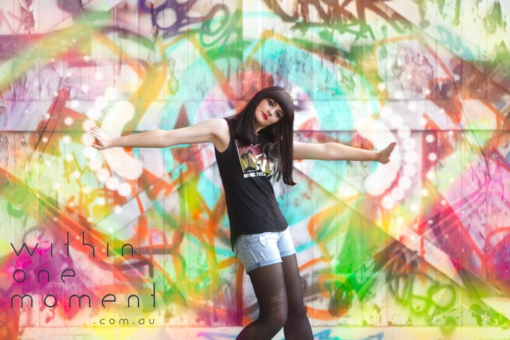 Graphic and colour composition from my shoot with Kelly.  I based the design idea from the graffiti in the back ground - Plus I really just like colourful things :)  Please credit back to me here or my website if re-posting or pinning.  (uploaded at 75% jpeg low-res)  www.withinonemoment.com.au