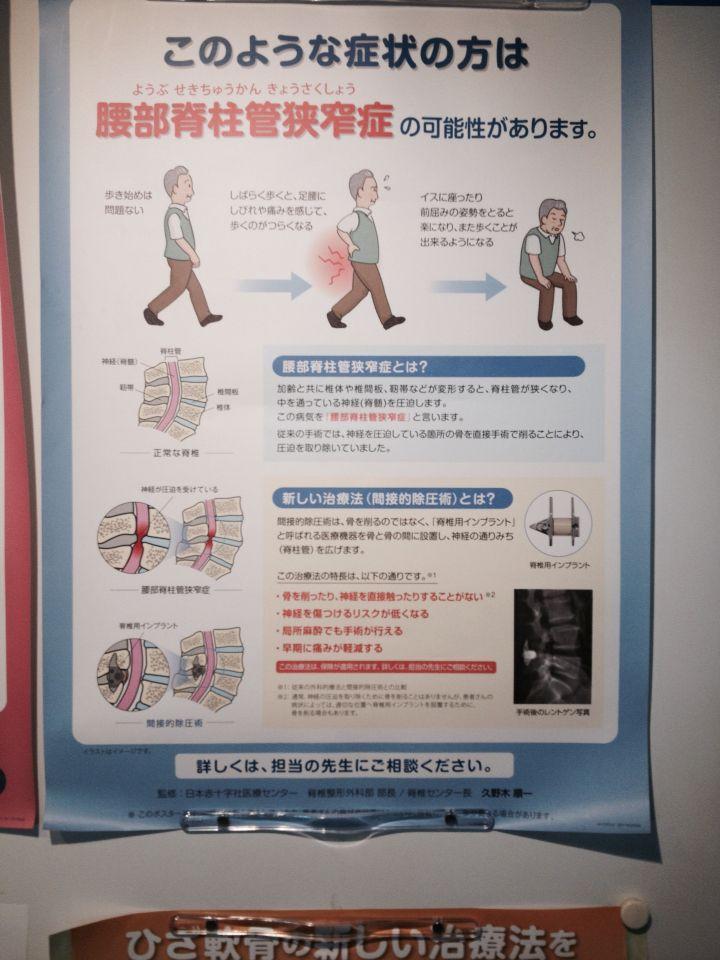 Dolor de espalda hospital de Japan luis rezza 2015
