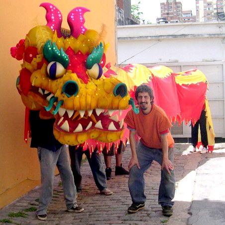 delgaraje: Dragón Chino para fiesta de jardín de infantes