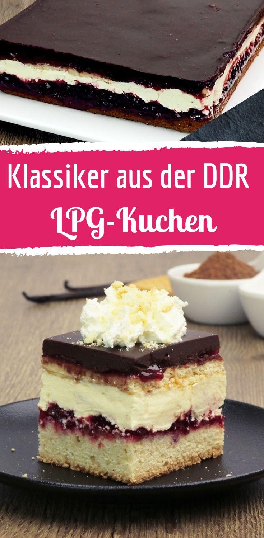 LPG-Kuchen ist der Klassiker aus der DDR