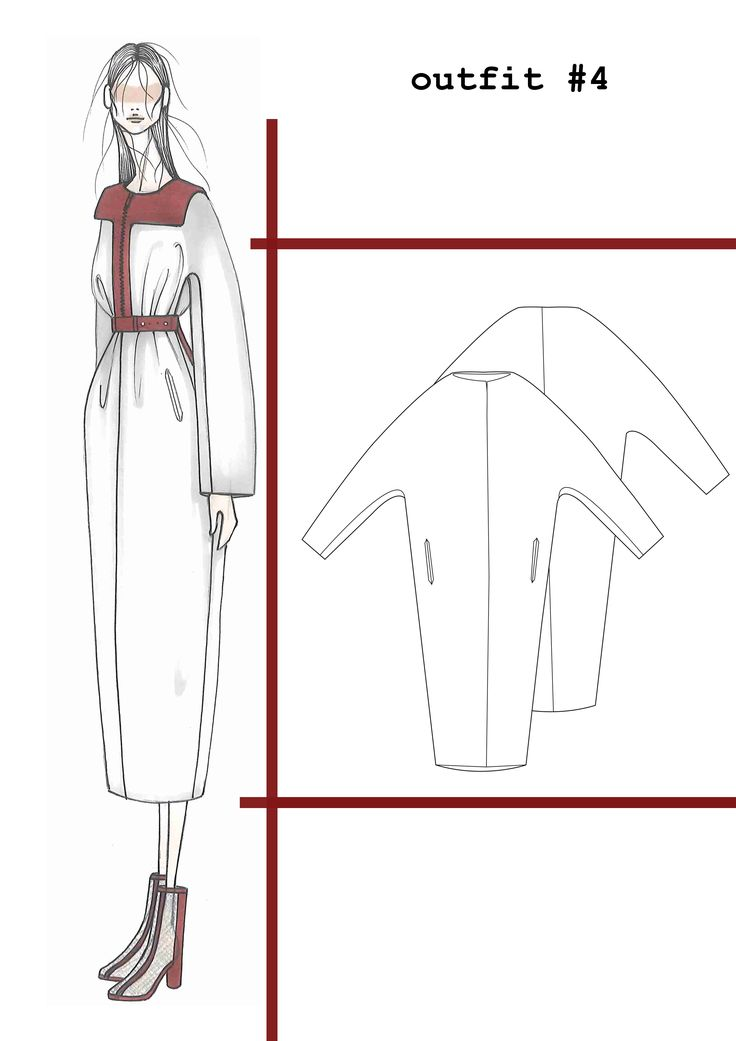 Fashion Sketchbook - fashion design drawings; fashion portfolio // Ilaria Fiore