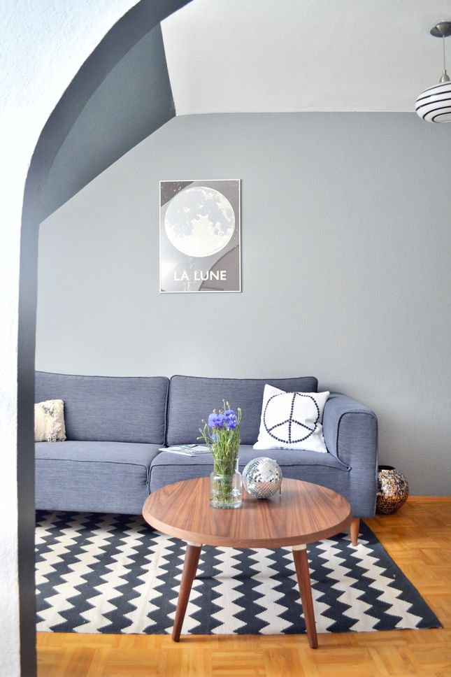 Plummet and Down Pipe by Farrow & Ball via Happy Interior Blog