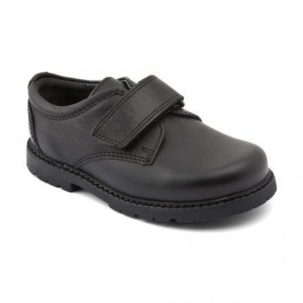 Will Black Leather Riptape Boys School Shoes http://www.startriteshoes.com/boys-shoes/school-shoes/will-black