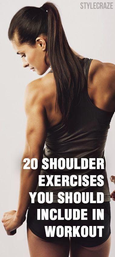 20 Effective Shoulder Exercises Eves Workouts