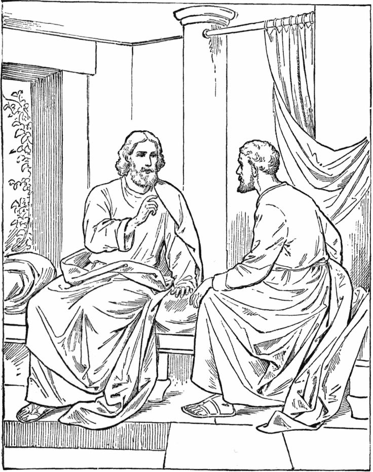 coloring pages rich young ruler - photo#8