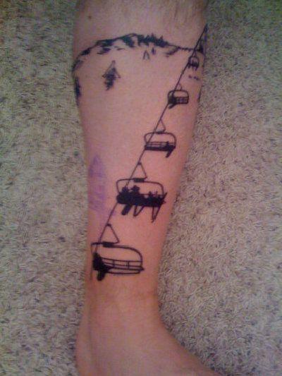 Snow Tattoo by Sarah Gaugler