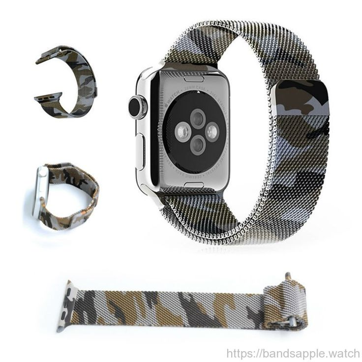 Milanese loop for apple watch camouflage purple wrist strap stainless steel for iwatch Standard Sport with magnetic clip //Price: $39.40 & FREE Shipping //     #nylon #nato #apple #watch #applewatch #ios #band #watchband #strap #applewatches