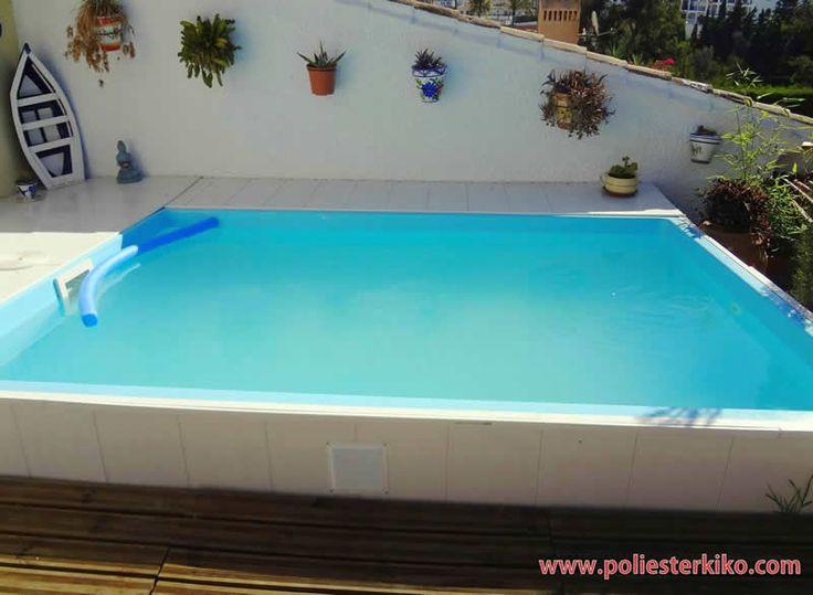 Las 25 mejores ideas sobre piscinas poliester en - Piscinas prefabricadas en valencia ...