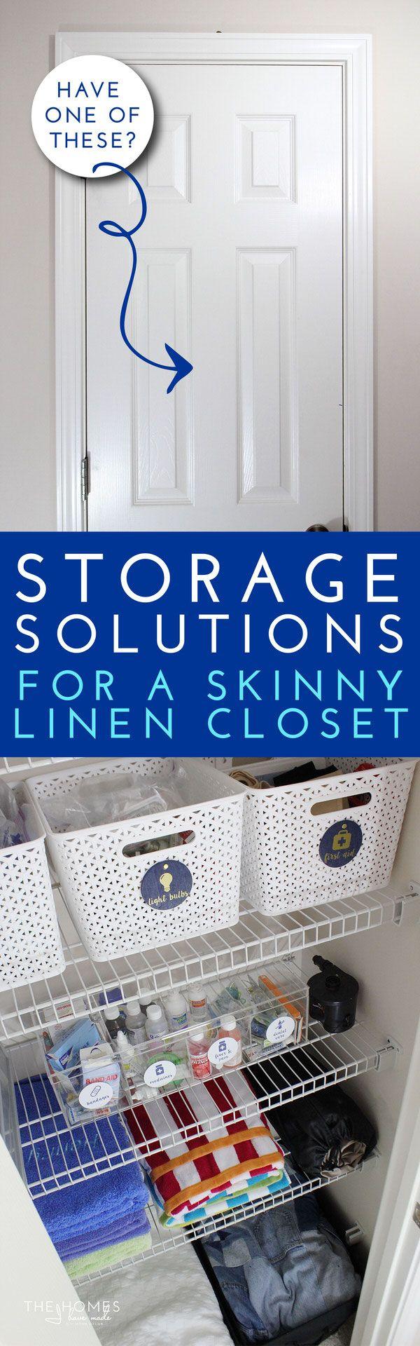 1000+ ideas about bathroom closet organization on pinterest