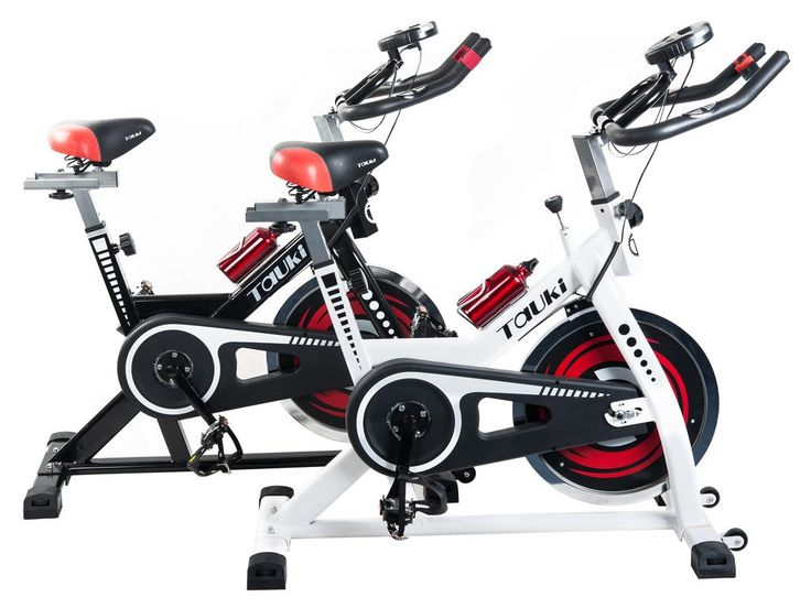 amazoncom tauki indoor upright exercise bike w lcd monitor cycling bike for