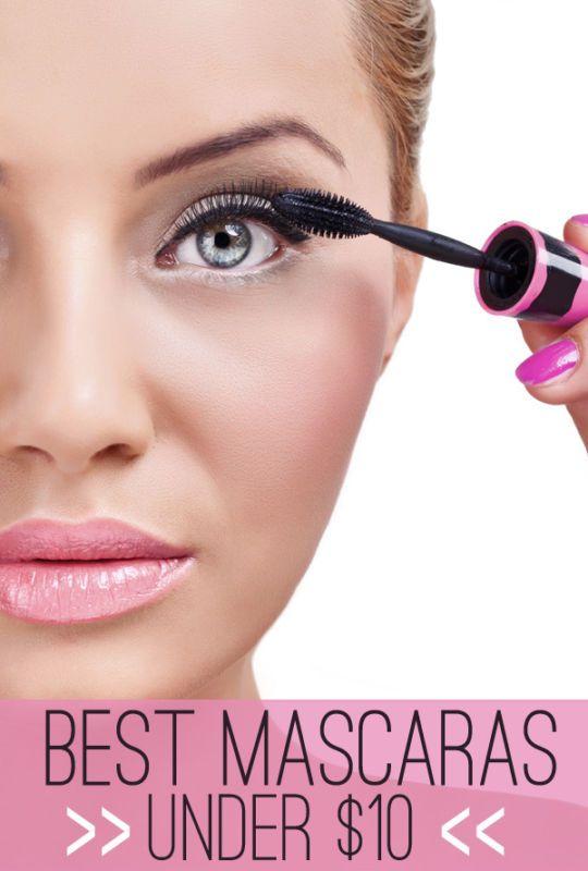 Best Mascaras under $10.00!