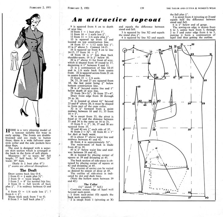 An Attractive Topcoat, The Tailor & Cutter, 1951: http://www.cutterandtailor.com/forum/index.php?showtopic=2475=24340=0
