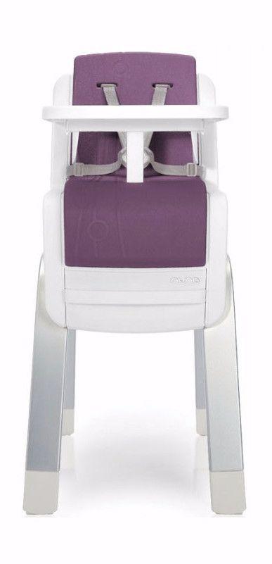 Nuna ZAAZ High Chair- Plum