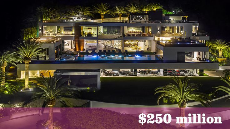The U.S.' priciest house for sale is a Bel-Air mansion that includes 7 staffers and a helicopter