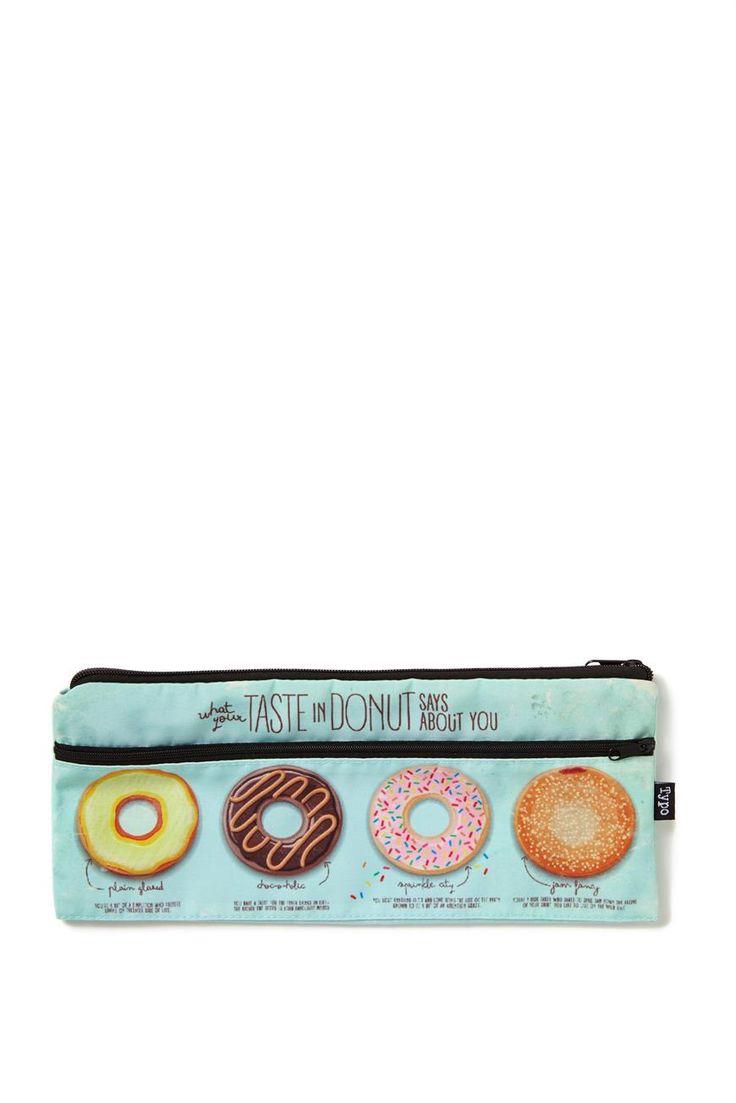 Donut pencil case