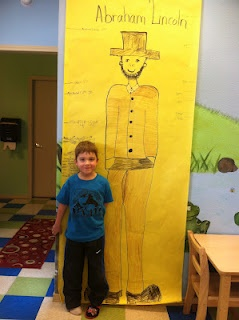 How tall is Abe Lincoln math activities http://discoverykidzone.blogspot.com/2012/02/presidents-day-activities.html