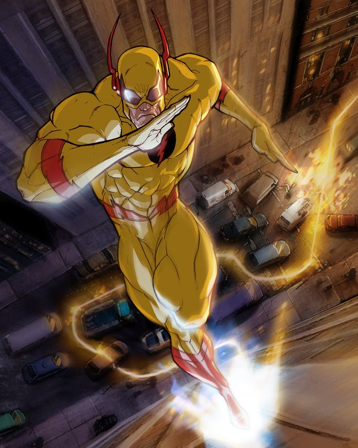Professor Zoom (Eobard Thawne aliases;  Reverse-Flash, Black Flash) (Genetically Enhanced Human) (Central City, Ohio, U.S.A.) Sociopathic Criminal; former Science Teacher. Enhanced intellect, criminal insanity. Superhuman speed (able to travel at up to speeds of 7,500,000 m.p.h.) deliver hundreds of blows a second, walk on water, create cyclones and vibrate his molecules super fast to pass through solid objects. Superhuman agility, reflexes.