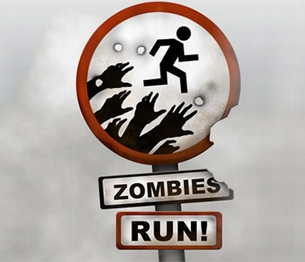 Download Zombies, Run! If you're bored with your current running route and need new inspiration, try this app. It takes less than 5 minutes to download but will bring hours of fun.