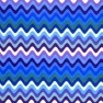 Purple Wave Cloth Diaper (AIO)