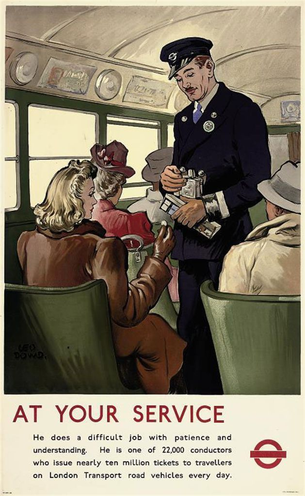 AT YOUR SERVICE, London Transport