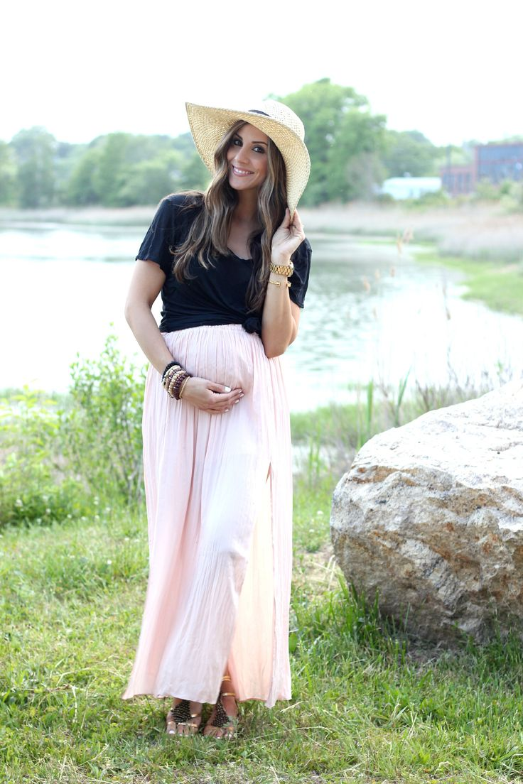 Pleated Maxi Skirt - Lauren McBride