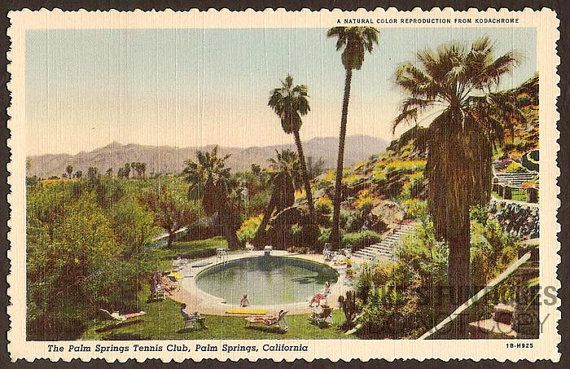 Palm Springs Vintage Postcards