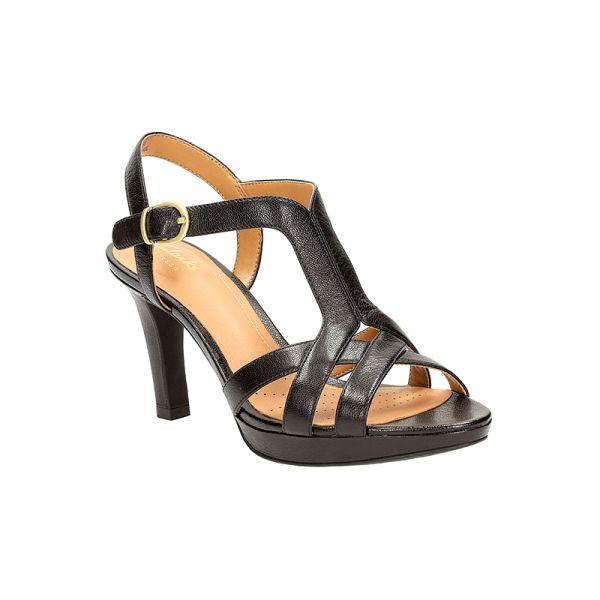 Delsie Risa by #Clarks Black leather xigoros.com