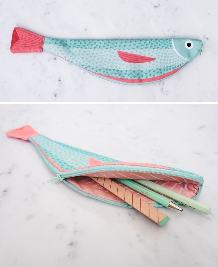 The 25 best fish pencil case ideas on pinterest pouch for Fish pencil case