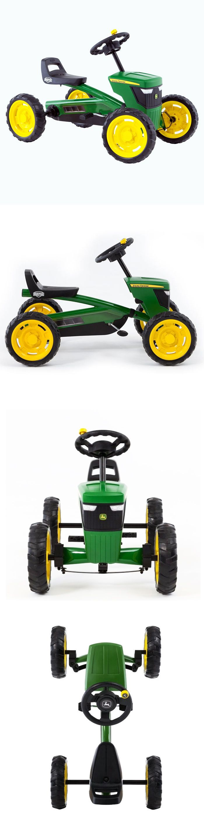 Complete Go-Karts and Frames 64656: Buzzy John Deere Pedal Go Kart -> BUY IT NOW ONLY: $185 on eBay!