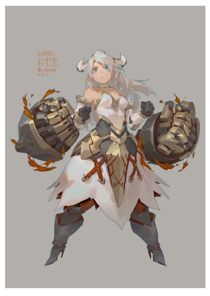 draw for 山海戰記, Krenz Cushart on ArtStation at https://www.artstation.com/artwork/ndGeX