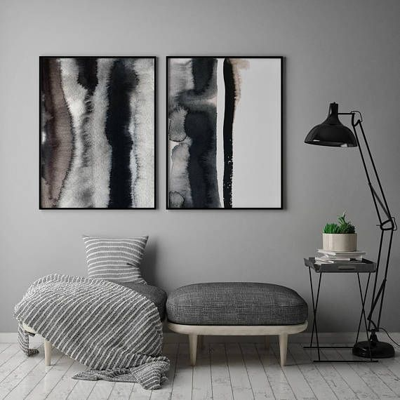 Abstract Watercolor print Abstract print Modern Abstract