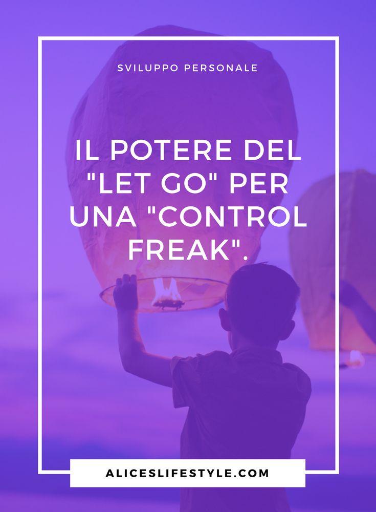 """Sono il perfetto esemplare di quella che in Inglese (Americano) chiamano """"Control Freak"""", ovvero maniaca del controllo. Mi è sempre piaciuto apparire agli occhi degli altri come una donna libera, capace di sperimentare tutto, senza limiti e paure. Ma dietro quella 'Wonder Woman', che amavo tanto mostrare agli altri, si celava una persona fragile, impaurita dal cambiamento, con il continuo bisogno di avere la situazione sotto controllo."""