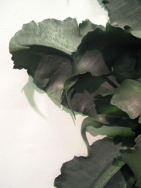 dusty green + smokey gray