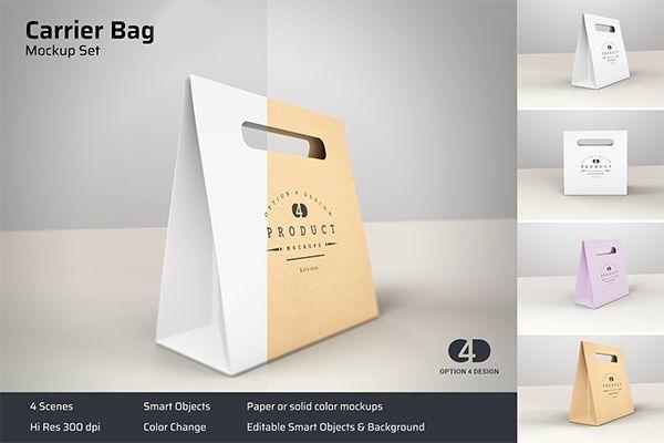 Download Carrier Bag Product Mockup Box Mockup Mockup Bag Mockup