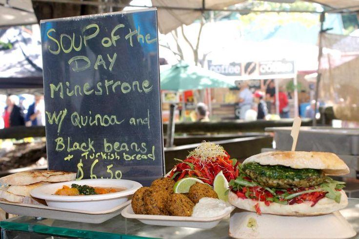 emundi markets noosa food stall