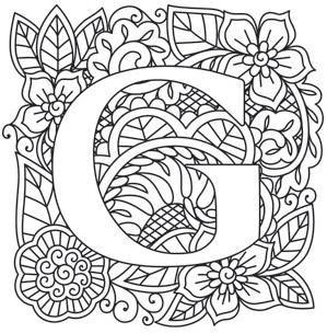 Mendhika Letter G image L E T T E R S