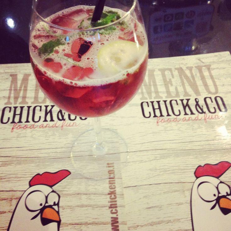 #aperitivo della casa:fresco, gustoso e inimitabile! Www.chickenco.it