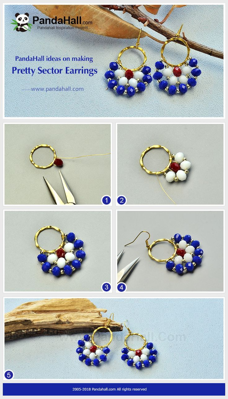 Learn To Make Beaded Earrings With These Easy Steps