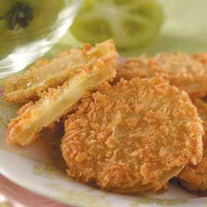 Panko Fried Green Tomatoes Recipe