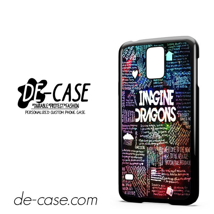 Imagine Dragon Collage Lyric DEAL-5549 Samsung Phonecase Cover For Samsung Galaxy S5 / S5 Mini