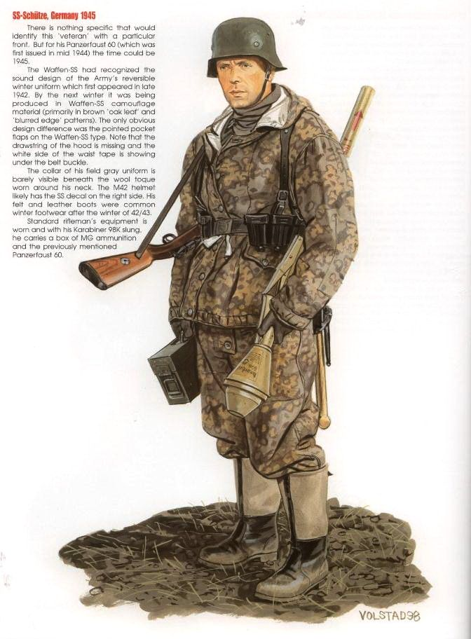 O To Ww Bing Com25 30: Waffen SS Schutze (private) With Panzerfaust 60 Germany