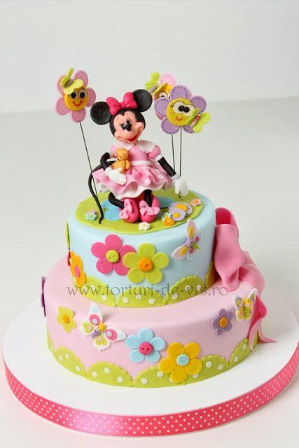 Torturi - Viorica's cakes: Minnie pentru Anastasia