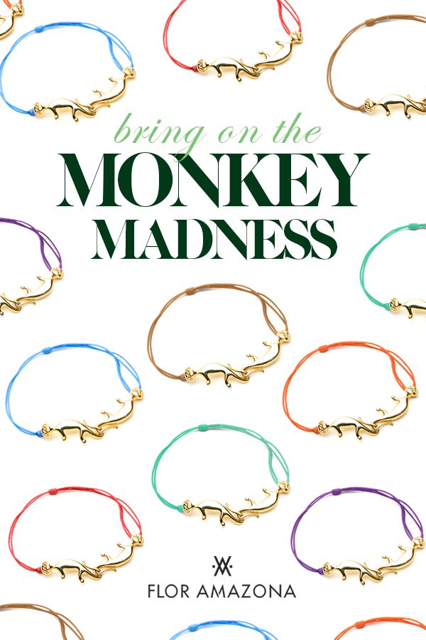 Flor Amazona Monkey Links www.floramazona.com