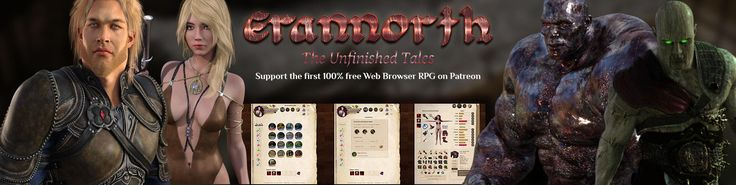 If you like Pen & Paper RPGs and Choose your Own Adventure / Gamebooks, then you should definitely give Erannorth a spin.  Erannorth is a text-based RPG Game that takes place in the vast continent of Elos: a constantly evolving fantasy world full of intrigue, challenges and adventures. Create your character exactly as you want, play the stories and adventures you want and forge your own destiny.