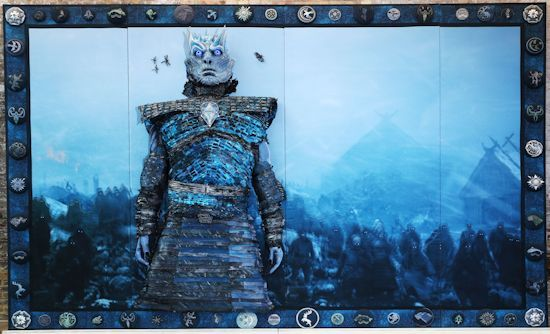 The Hardhome Embroidery unveiled