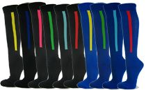 Buy stripe baseball socks from sports athletic sock manufacturer wholesaler Couver